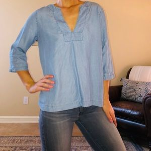 Gap Denim Blouse